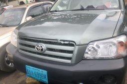 Nigeria Used Toyota Highlander 2004 Model Green