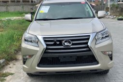 Tokunbo Lexus GX 2016 Model Gold