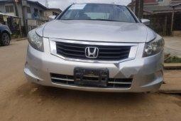 Nigerian Used Honda Accord 2008 Model Silver