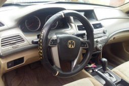 Very Clean Nigerian used 2009 Honda Accord Automatic Petrol well maintained