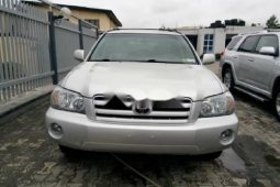 Foreign Used Toyota Highlander 2005 Model