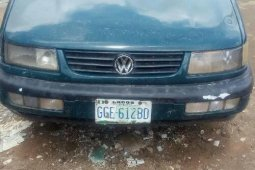 Nigerian Used 2002 Volkswagen Passat Manual