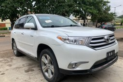 Foreign Used Toyota Highlander 2012 Automatic
