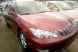 Foreign Used Toyota Camry 2006 Model Red