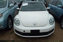 Tokunbo Volkswagen Beetle 2012 Model White