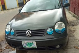 Nigeria Used Volkswagen Polo 2006 Model Green