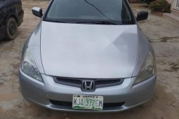 Very Clean Nigerian used Honda Accord Automatic 2003