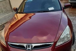 Very Clean Foreign used Honda Accord 2006 Sedan LX SE Automatic Red