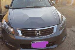 Nigeria Used Honda Accord 2008 Model  3.5 EX-L Automatic Gray