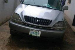 Very Clean Nigerian used Lexus RX 2000 Silver
