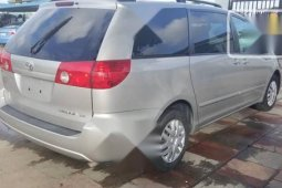 Neat Foreign used Toyota Sienna 2008 LE Silver