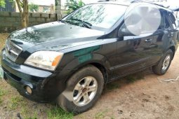 Very Sharp Tokunbo Kia Sorento 2003 2.5 D Automatic Black