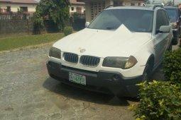 Nigeria Used BMW X3 2005 Model White