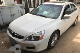 Nigeria Used Honda Accord 2007 Model 2.4 White