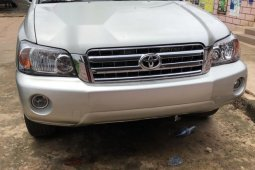 Foreign Used Toyota Highlander 2004 Silver