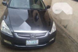 Nigeria Used Honda Accord 2004 Model 2.4 Type S Automatic Black