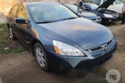 Tokunbo Honda Accord Sedan EX Automatic 2005 Model Grey