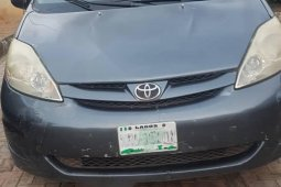 Nigerian Used Toyota Sienna 2008 Green