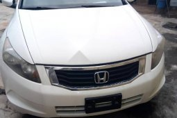 Foreign Used Honda Accord 2009 White