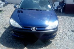Tokunbo Peugeot 206 2002 Model Blue