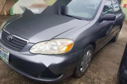 Well Maintained Nigerian used Toyota Corolla 2006 Gray