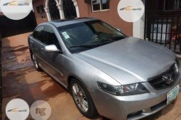 Nigeria Used Clean Honda Accord 2003 Model Silver