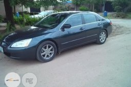 Nigeria Used Honda Accord EOD 2003 Black