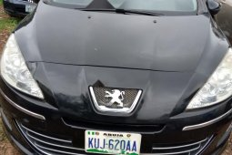 Very Clean Nigerian used Peugeot 408 2012