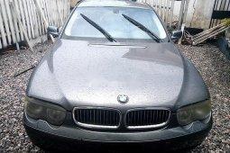 Neat Nigerian used 2002 BMW 7 Series