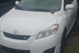 Foreign Used Toyota Matrix 2009 Model White