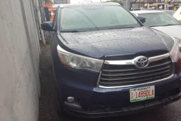 Super Clean Tokunbo 2015 Toyota Highlander