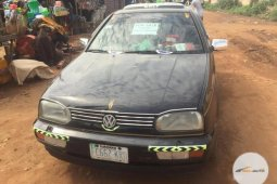 Nigeria Used Volkswagen Golf 1999 Black