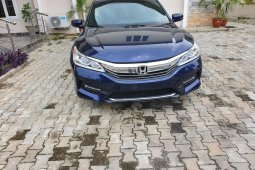 Foreign Used Honda Accord 2016 Model Blue