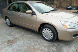 Foreign Used 2007 Honda Accord Petrol
