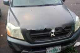 Nigeria Used Honda Pilot 2004 Model Grey