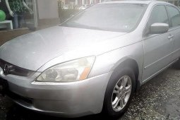 Nigeria Used Honda Accord 2005 Model Silver