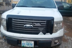 Nigeria Used Ford F-150 2010 Model White