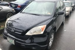 Nigeria Used Honda CR-V 2008 Model Black