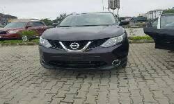Nigeria Used Nissan Qashqai 2015 Model Black