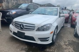Tokunbo Mercedes-Benz C300 2013 Model White