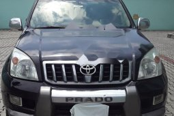 Nigeria Used Toyota Land Cruiser Prado 2009 Model Black