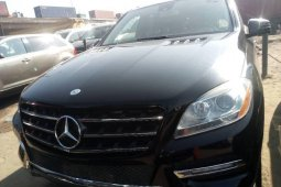 Foreign Used  Mercedes-Benz ML350 2013 Model