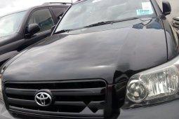 Tokunbo Toyota Highlander 2006 Model Black
