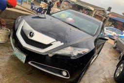 Nigeria Used Acura ZDX 2012 Model Black