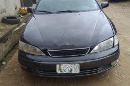 Nigeria Used Lexus ES 1997 Model Black
