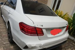 Nigeria Used Mercedes-Benz E63 2016 Model White