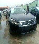 Nigeria Used Honda Accord 2009 Model Black