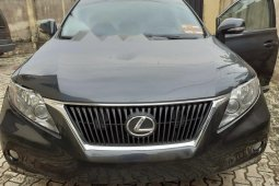 Foreign Used Lexus RX 2010 Model Grey