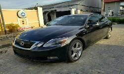 Nigeria Used Lexus GS 2008 Model Black