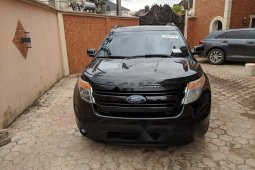 Tokunbo Ford Explorer 2010 Model Black